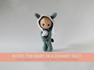 Baby Bitsy in a Donkey Suit