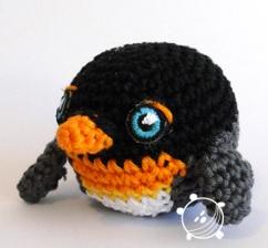 Pingu Pinguïn Gratis Patroon Dutch Amigurumi